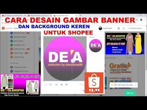 Ukuran Banner Toko Di Shopee - desain spanduk kreatif