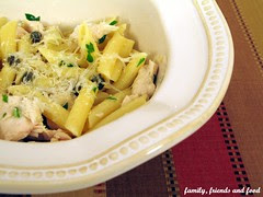 penne chicken and capers