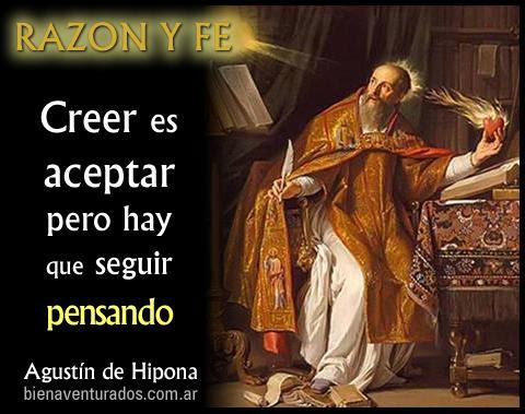 Bienaventurados San Agustin De Hipona