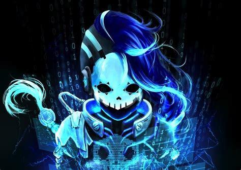 cyberspace sombra overwatch blue wallpaper overwatch
