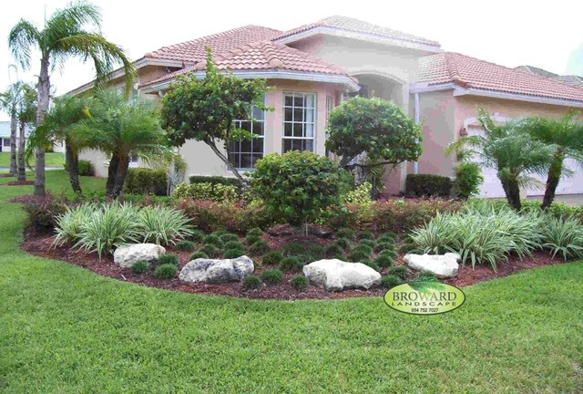 Landscaping Ideas Miami Landscape Designs For Front Yard