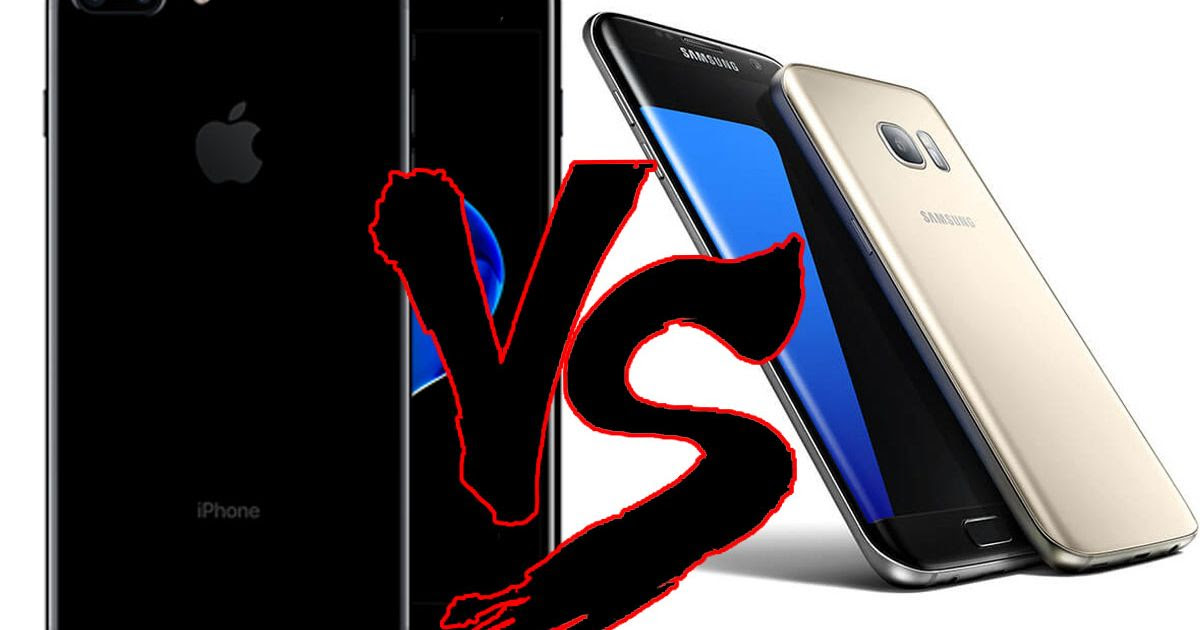iPhone 7 vs Galaxy S7: Which smartphone is best when Apple and Samsung go toe-to-toe?