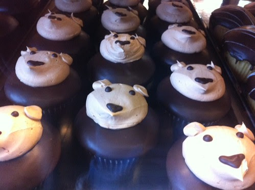Army of Bear Cupcakes!
