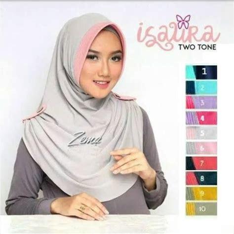 model hijab terbaru  jilbab instan isaura  tone