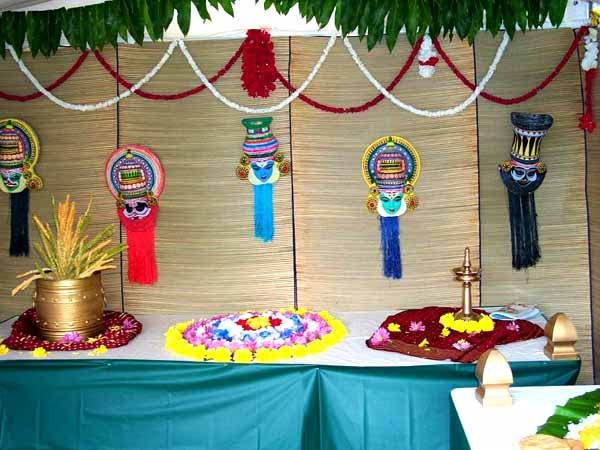 Onam Decorations - Onam Decoration Ideas