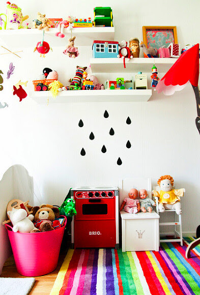 playroom, rug, bright, color, flickr, kidsroom, toys, playful, creative, pink, interiordesign