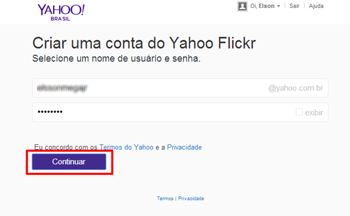 ECM Informática : Como recuperar o login do Flickr via Facebook e