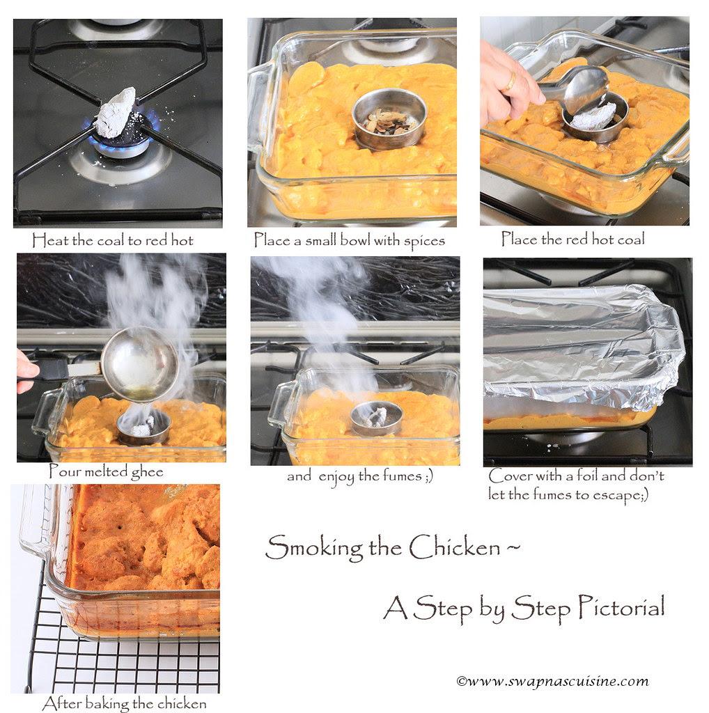 Koyla Chicken step by step recipe