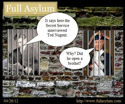 Secret Service vs. Ted Nugent