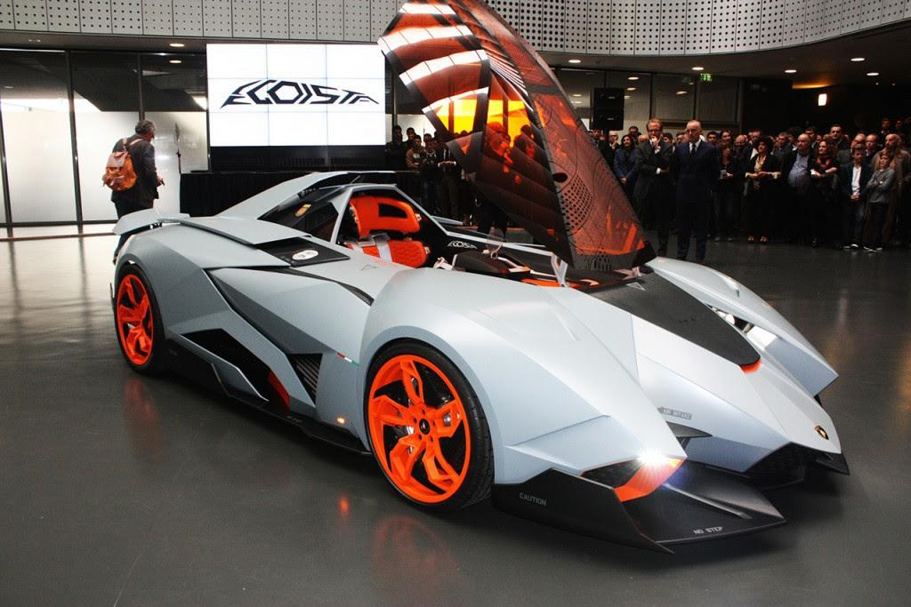Lamborghini Egoista. автомобили, эксклюзив