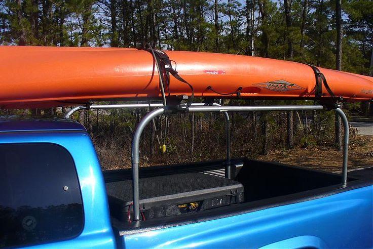 Home made pick-up kayak rack? | Kayaking | Pinterest