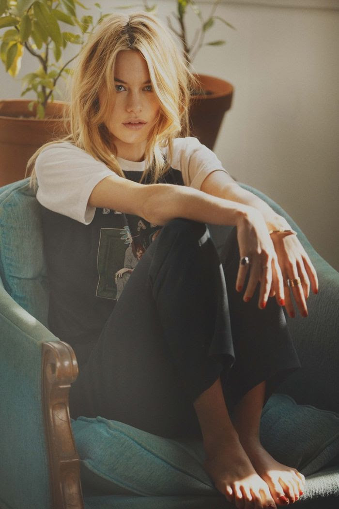 Camille Rowe photographed by Guy Aroch for So It Goes Magazine #3 | NOWEAR LAND