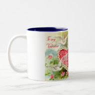 Cupid Watering Heart Mug