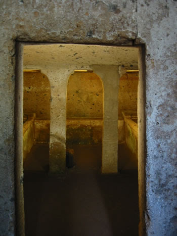 Necrópolis etrusca de Banditaccia  (Lazio)