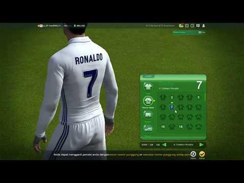 Cara Mengganti Nomor Punggung Pemain FIFA Online 3 Indonesia