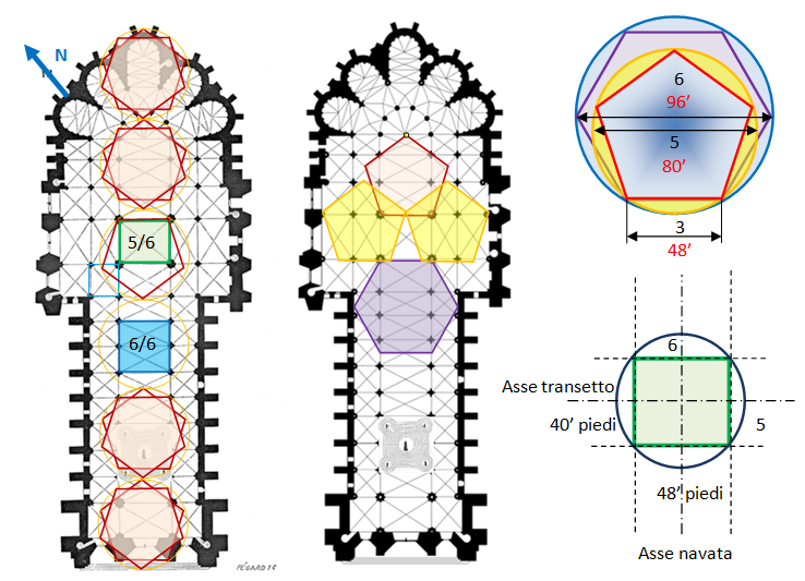 Modulo della cattedrale di Reims