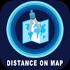 Shailaja bavikadi - Measure Exact Distances on map artwork