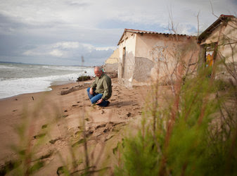 Potential privatization hit a wall at Katakolo, a seaside town where Christos Konstantopoulos paused near abandoned beachfront homes.