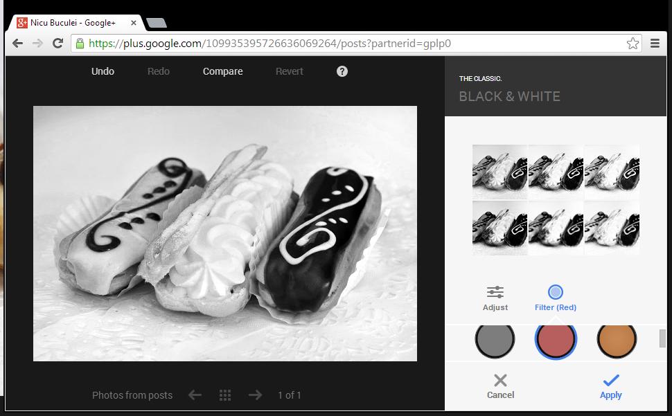 google plus raw photos