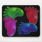 Just the Right Foot mousepad