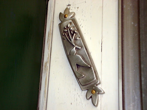 Close-Up of the Mezuzah