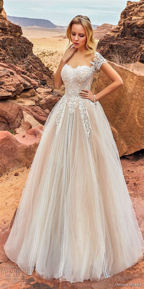 Oksana Mukha 2018 Wedding Dresses   Wedding Inspirasi