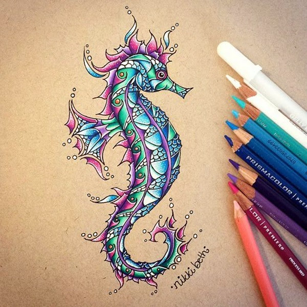 color pencil drawing Examples (23)