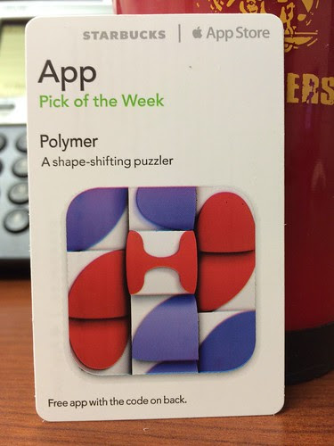 Starbucks iTunes Pick of the Week - Polymer
