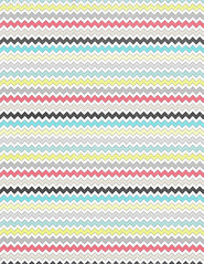 7 distressed multicolour chevron - standard or letter size 350dpi