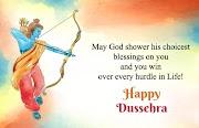 Happy Vijaya Dashami Wishes, Best Dussehra Sms