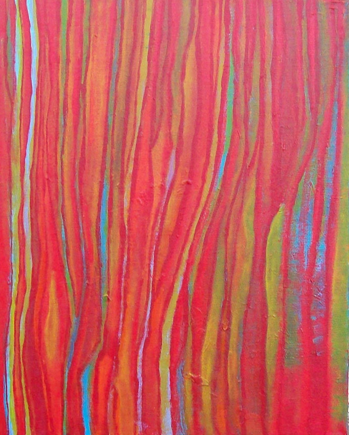 Contemporary Abstract Art Painting - Stream of Thoughts