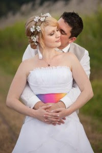 the bride and groom in cairns stunning wedding makeup and bridal hair