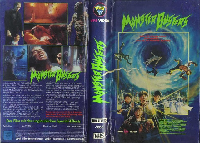 Monster Squad (VHS Box Art)