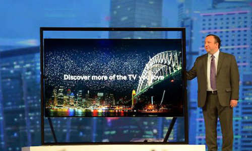 Samsung Launches Behemoth 85-Inch and 110-Inch Ultra High Definition
