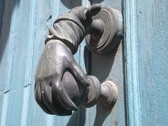 Door knocker I , Carcassonne
