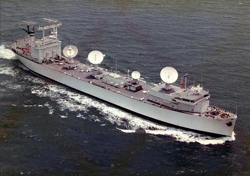 USNS Vanguard (ex.SS Mission San Fernandoas) as NASA Skylab tracking ship by AC Studio