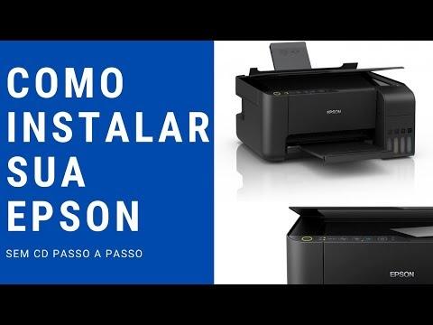 Tutorial Como Instalar Impressora Epson l3150 no Computador