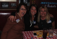 Lori Borkey, Susan Werner and Steve Walden present at Buca di Beppo @Whitehall #Networking