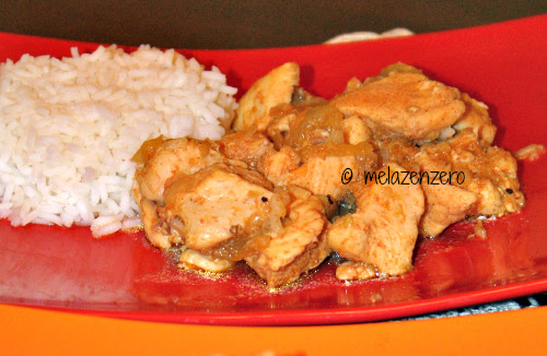 pollo alle spezie orientali