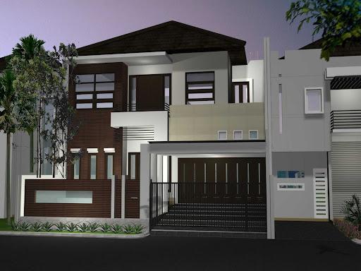 Teras Rumah Dak Cor rumah minimalis 2 lantai yang asri expo desain rumah