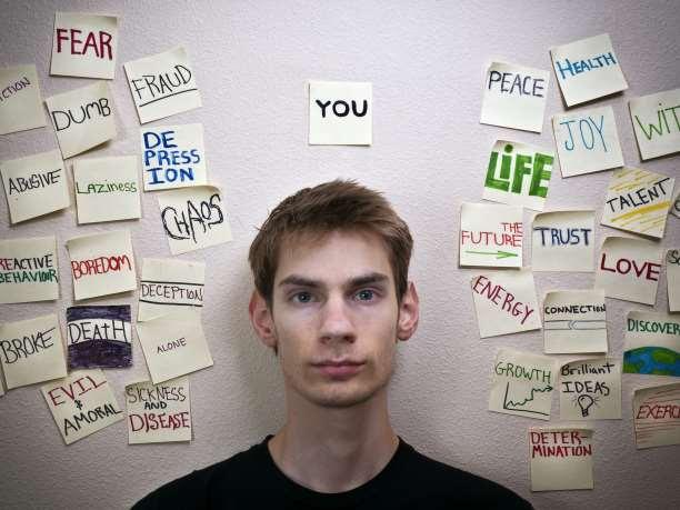 σκέψεις αυτοεκτίμηση προτεραιότητες στόχοι πίεση άγχος στρες