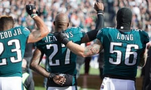 Philadelphia Eagles Refuse To Stand For National Anthem,Hands On Heart. See Reasons And The Consequences Posed By Trump