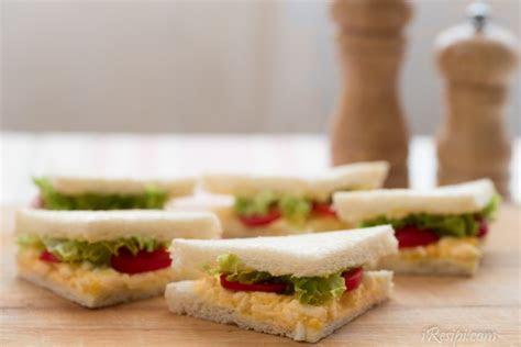 resepi sandwich telur sedap