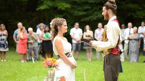 Pagan Wedding Ceremony   Handfasting   Pagan Wedding   God