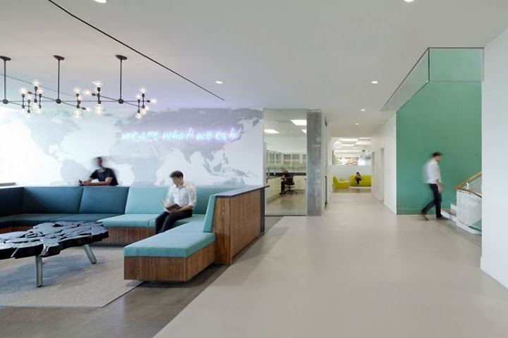 Hain Celestial headquarters by Architecture + Information & JBM