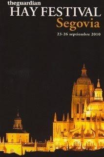Cartel Hay Festival Segovia 2010