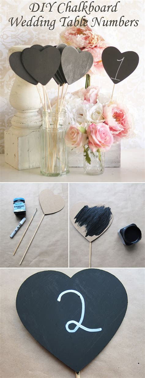 Top 10 DIY Wedding Table Number Ideas With Tutorials