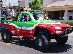 Tom Bradley's number 805 Chevrolet Class 8 truck is not only the most recognizable off-road truck in Mexico, it's also the winningest.