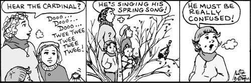 Home Spun comic strip #698