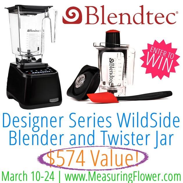 Blendtec Designer Series Wildside Blender And Twister Jar
